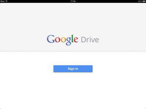 google drive pour iphone ipad