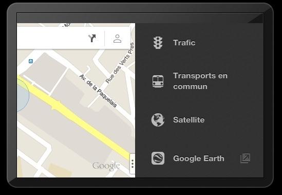 Nouvelle application Google Maps pour Iphone